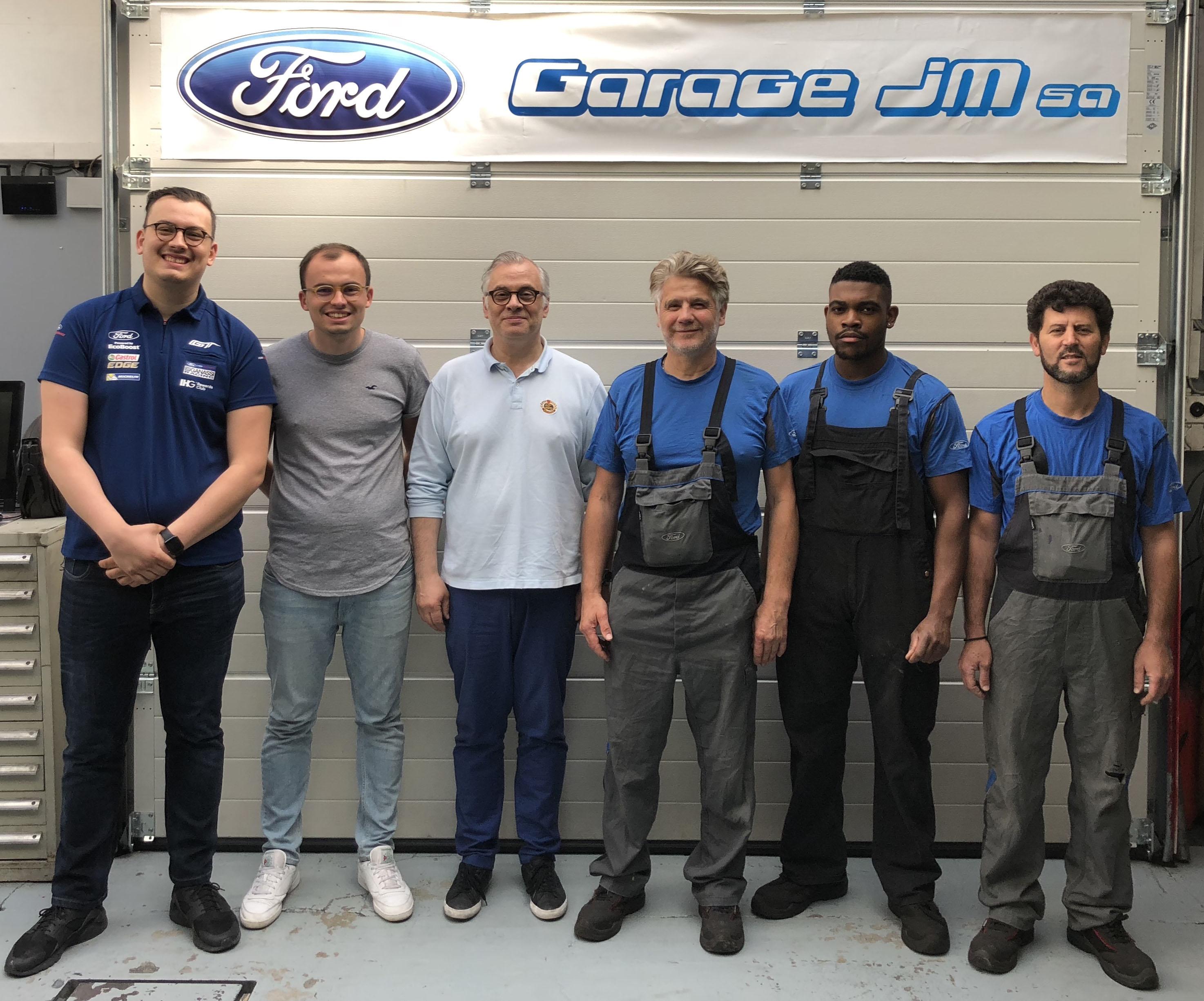 Garage Ford JM SA à Genève