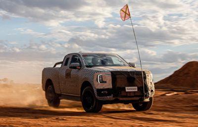Første sneak peek på ny Ford Ranger