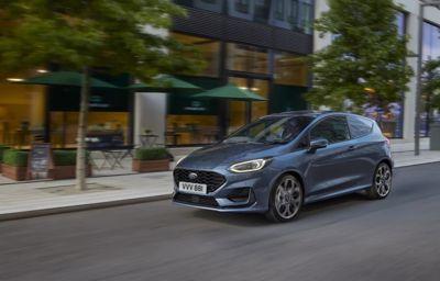 Fordin uusi Fiesta Van tarjoaa näyttävää muotoilua