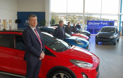 Our Sales leadership Team at Cork City Ford welcomes you back