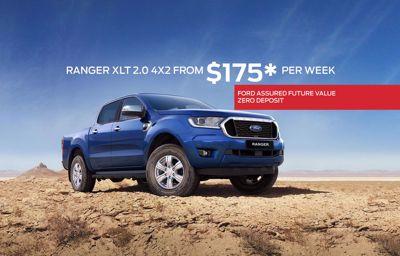 Ranger XLT 2.0 4X2 from $175* Per Week