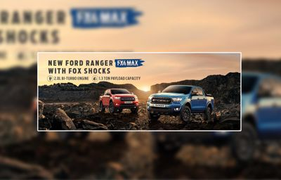 Ford Philippines Boosts Off-Road Capability of Pickup Portfolio with New Ford Ranger FX4 MAX