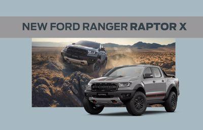 THE NEW FORD RANGER RAPTOR X