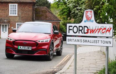 Ford Challenges Britain's Smallest Town to Switch to Electric