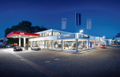 Ford dealer Auto Bolhuis pand