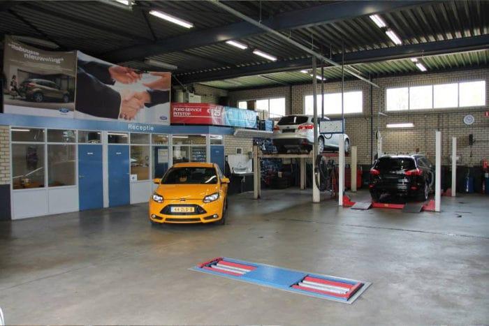 Ford Autobedrijf Hans Versteden BV Werkplaats Afspraak maken