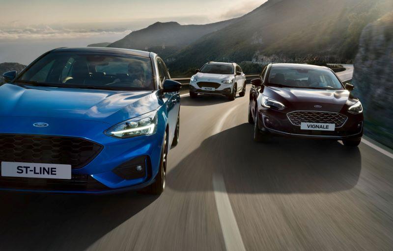 Nye biler fra Ford hos Sunnhordland Bil