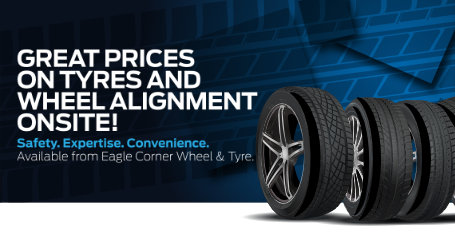 Eagle Wheel & Tyre keeps you safe with wheel balancing and tyre fitment